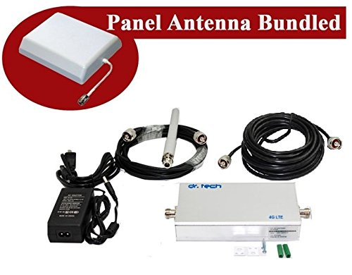 Dr Tech® 2G 1900 MHz Cell Phone Signal Booster Amplifier Repeater PCS GSM for T - Mobile US ()