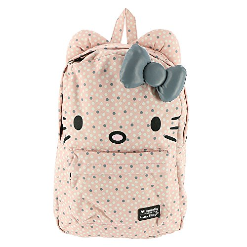 Loungefly Hello Kitty Bow Backpack SANBK0325 Pink-Grey ()