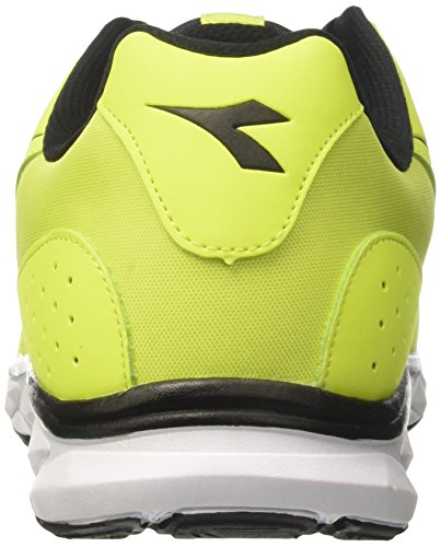 Hawk Diadora Yellow Nero Running 8 Men's Competition Giallo Fluo C0001 Shoes OCnCq5