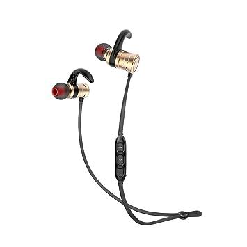 TopTen – Auriculares inalámbricos, Bluetooth 4.1 Deportes In-Ear auriculares de control de imán