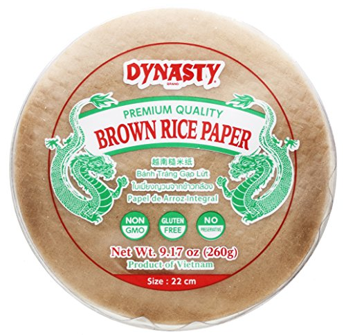 Dynasty Brown Rice Paper, 9.17 Ounce (Pack of 12) ()