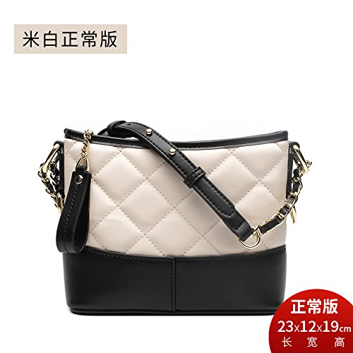 White Fragrante Bag Crossbody Bag Lingge Grande Of Di Guangming77 Versione Sacchetto Rice Piccolo Riso match bianco Per Normal Version Tutti Catena Femmina Mini 0XOnwPk8
