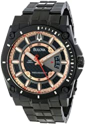Bulova Men's 98B143 Precisionist Charcoal Grey Dial Bracelet Watch