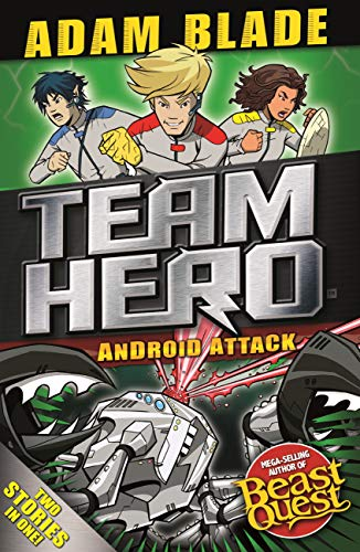Android Attack: Special Bumper Book 3 (Team Hero) (English Edition)