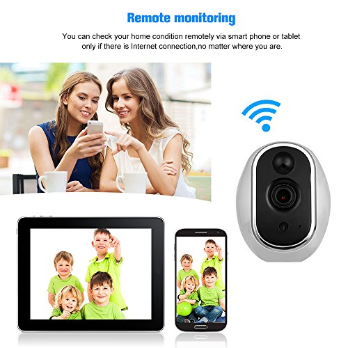 OWSOO Wireless Security IP Camera Pet/Baby/Parents/Home Monitor 960P 1.3 Megapixel WiFi Camera 2-way Audio & Night Vision Phone APP Motion Detection Security Camera by OWSOO (Image #8)