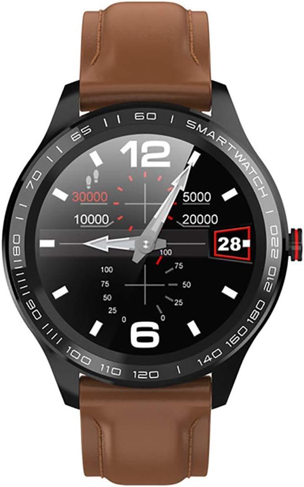 Pulsera De Actividad, Reloj Inteligente con Pulsómetro Y Presión Arterial Relojes Deportivos GPS Impermeable IP68 Monitor De Ritmo Cardíaco Actividad Pulsera Reloj Fitness Podómetro