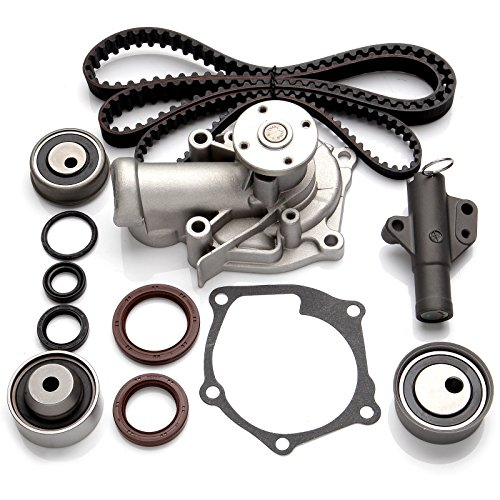 ECCPP Timing Belt Water Pump Kit Fits 2004-2009 Mitsubishi Eclipse Galant Lancer Outlander 2.4L SOHC 4G69