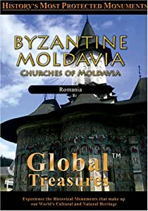 Global Treasures BYZANTINE MOLDAVIA Churches of Moldavia Romania [Import]