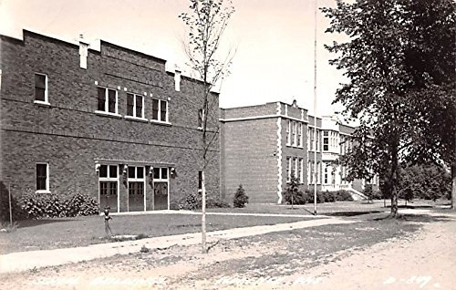 School Building Florence, Wisconsin postcard ()