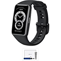 HUAWEI Band 6, All-day SpO2 Monitoring, 1.47'' FullView Display, 2-Week Battery Life, Fast Charging, Heart Rate…