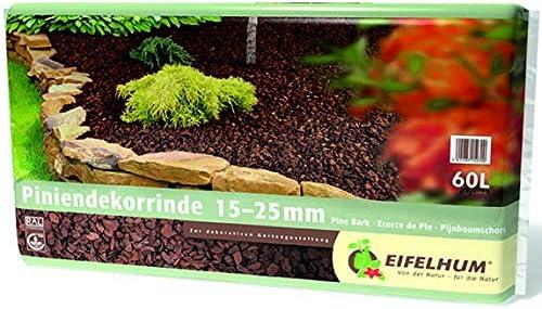 KUHLMANN - Corteza de Pino, 15-25 mm, 60 L: Amazon.es: Jardín