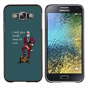 """Be-Star Único Patrón Plástico Duro Fundas Cover Cubre Hard Case Cover Para Samsung Galaxy E5 / SM-E500 ( Comprar divertido del inconformista Local Lifestyle Barba hombre Carbón"""" )"""