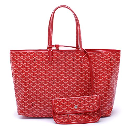 Women Purse Handle Handbags Travel Shopping Tote Red For Classic Top Loyeoy Shoulder amp; Large Bags pnSFqpRO