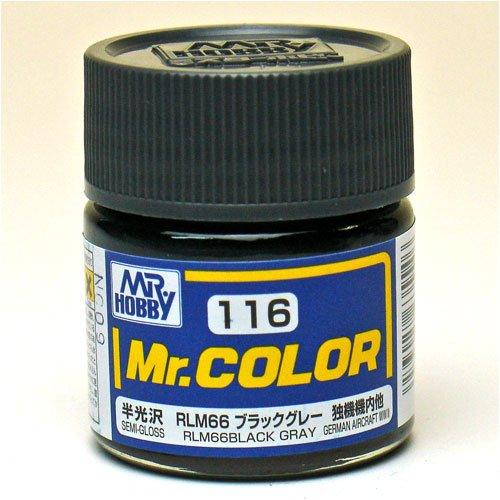 Mr.カラー C116 RLM66ブラックグレー