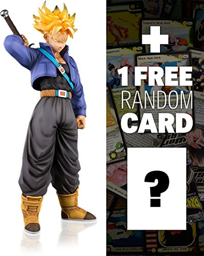 Super Saiyan Trunks: Dragonball Z x Tamashii Nations FiguartsZERO EX Figure + 1 FREE Official DragonBall Trading Card Bundle (Dragon Ball Ex)