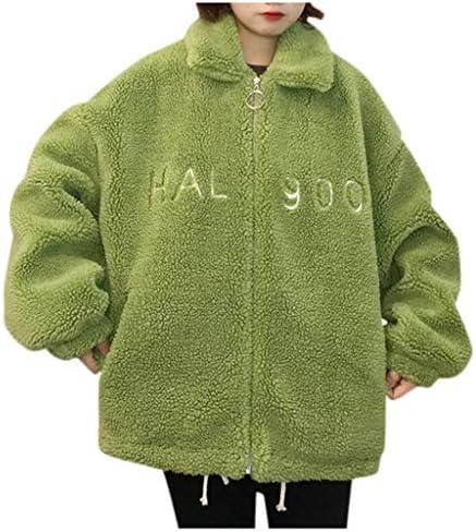 [해외]2020 New Women`s Warm Wool Coat Fashion Long Sleeve Faux Shearling Shaggy Oversized Winter Coat JacketPockets / 2020 New Women`s Warm Wool Coat Fashion Long Sleeve Faux Shearling Shaggy Oversized Winter Coat JacketPockets