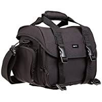AmazonBasics Large DSLR Gadget Bag (interior gris)