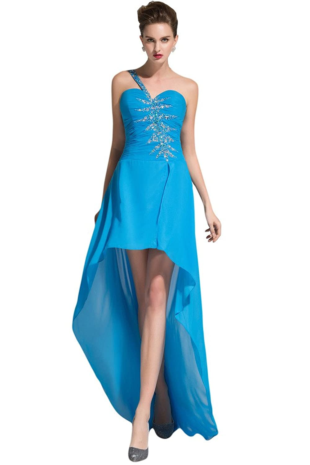 Sunvary Sweetheart Romantic Bridesmaid Prom Gowns with Pleated Ruffle