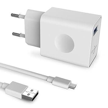 [Qualcomm Quick Charge] Joly Joy® Quick Charge Cargador USB Cargador rápido para Galaxy S7, S7 Edge, S6 Edge/Plus, Note 4/5, LG G4, Nexus 6 (1 Port ...