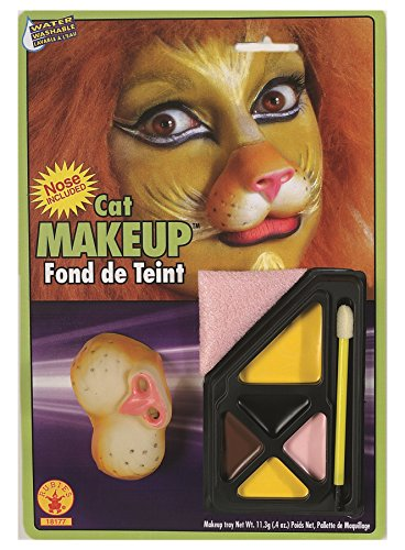 [Rubie's Costume Co Cat Makeup Kit Costume] (Halloween Cat Costume Face Makeup)
