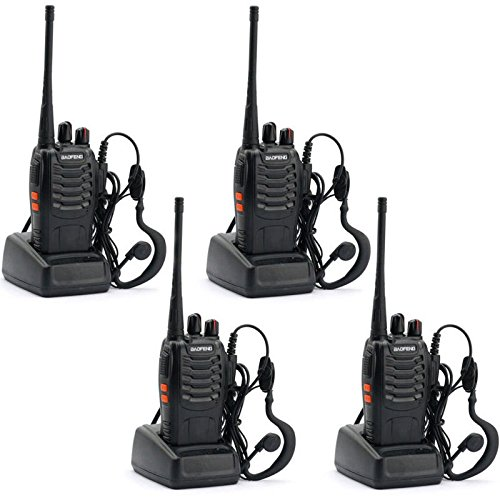 Guestway-Baofeng-Amateur-Radio-Handset-Portable-BF-888S-UHF-400-470-MHZ-5W-CTCSS-for-Guard-Communications-Pack-of-4PCS