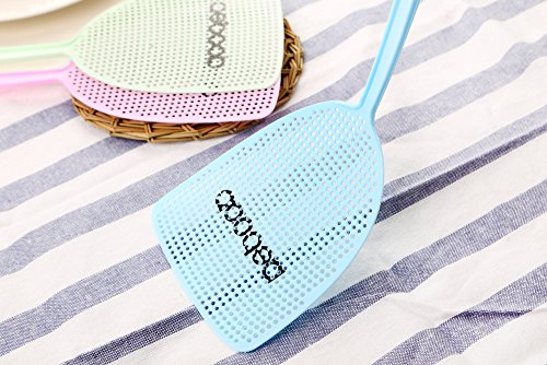 NETCAT Fly Swatter Manual Swat Pest Control sweet-color (3 Pack) by NETCAT (Image #3)