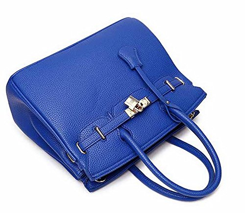 Women's Zippers Royalblue Casual Bags Bags Pu VogueZone009 Shoulder Crossbody Dress ZdXw77