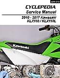 CPP-270 Kawasaki KLX110/L Cyclepedia Printed Motorcycle Service Manual