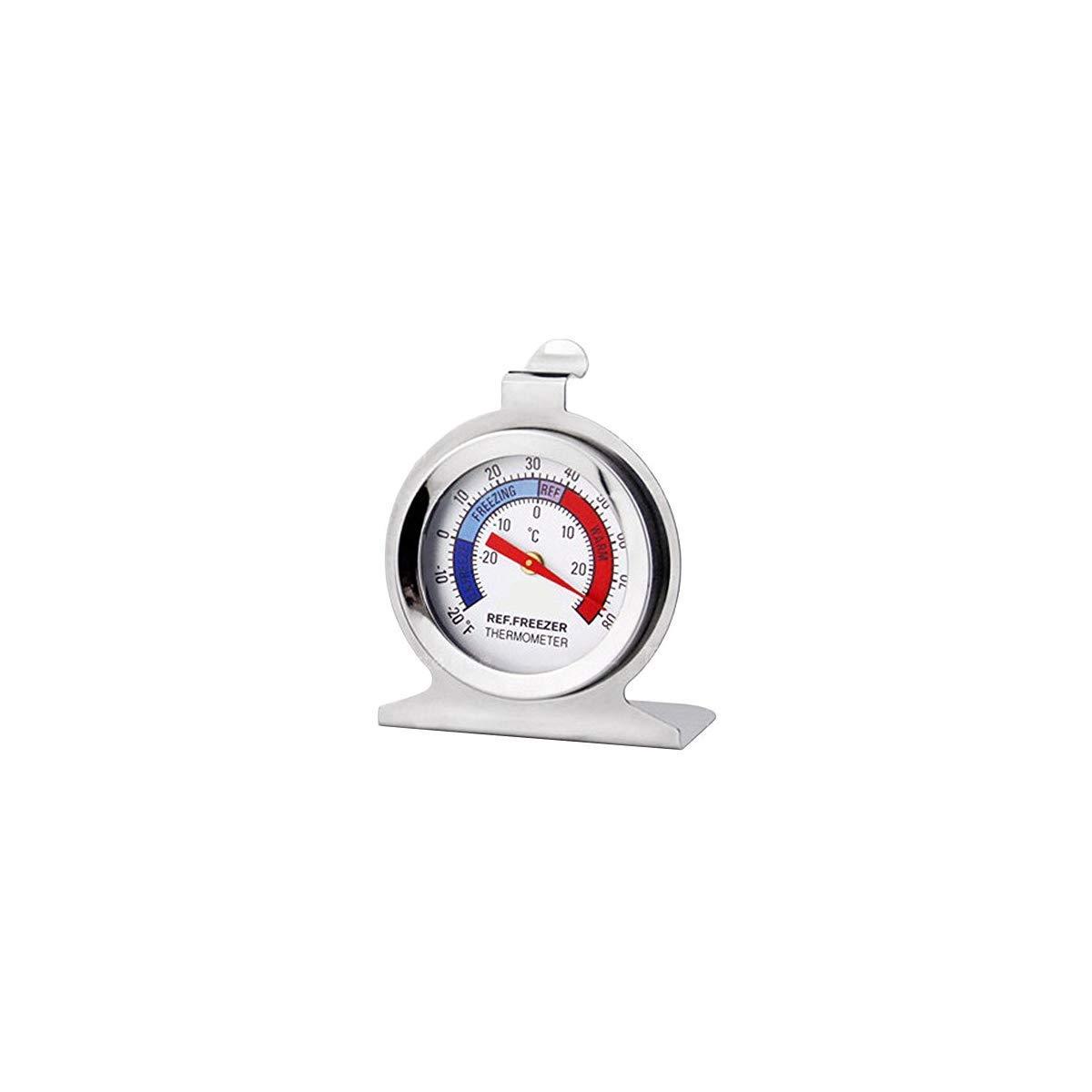 Termómetro para congelador de acero inoxidable para medir la ...