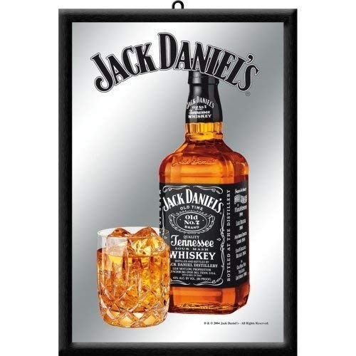 USAL Jack Daniels Bottle with Glass Flasche und Glas for sale  Delivered anywhere in Canada
