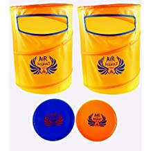 Air Assault Disc Slamming Game Set - Outdoor Frisbee Dunking Game - Perfect for Tailgates, Family Parties, BBQ's, the Beach, Parks and More!