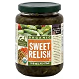 Woodstock Farms Organic Sweet Relish, 16 Ounce -- 12 per case.