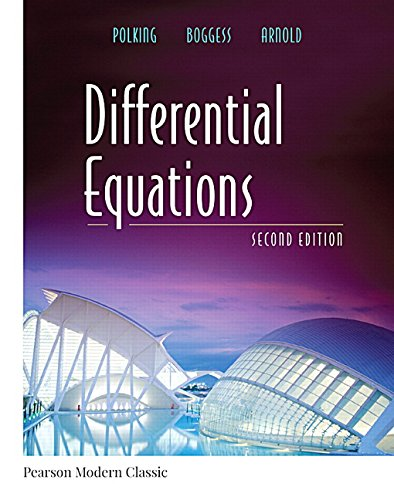 Differential Equations (Classic Version) (2nd Edition) (Pearson Modern Classics for Advanced Mathematics Series)