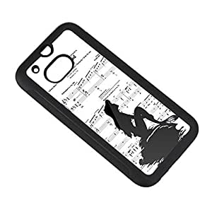 Generic The Little Mermaid and The piano music Cases Cover for HTC one m8