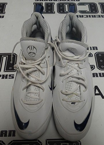 - Dennis Norman Game Used Worn Football Cleats Nike Size 16 2009 Chargers Jaguars - NFL Game Used Cleats