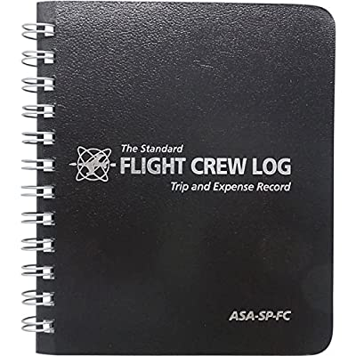 asa-black-flight-crew-logbook