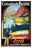 Canadian Pacific, Banff Print Poster
