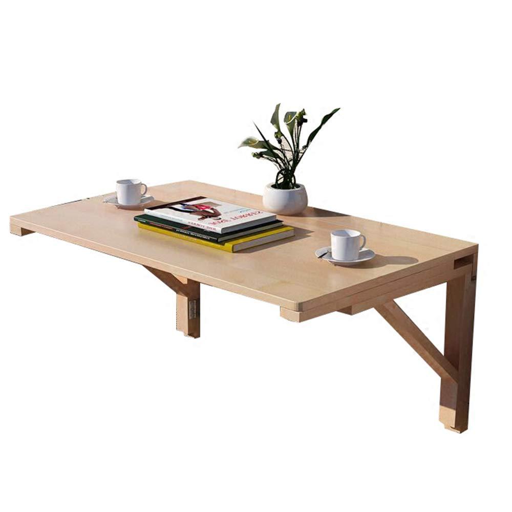 FEIFEI 壁掛け式落書きテーブル、折り畳みダイニングテーブルデスク、ソリッドウッドテーブル、コンピューターデスク、子供用デスク (サイズ さいず : 100 * 60CM) B07HQ8R1T2 100*60CM  100*60CM