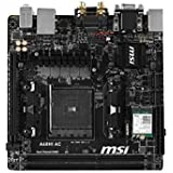 MSI AMD FM2+ A68H DDR3 SATA 6Gb/s USB 3.0 HDMI Mini ITX Motherboard (A68HI AC)