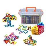 Large Size Magnetic Blocks, Woreach 64Pcs Magnetic Blocks Building Toys for Boys
