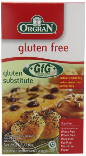 OrgraN Gluten Substitute, 7-Ounce Boxes (Pack of 8)