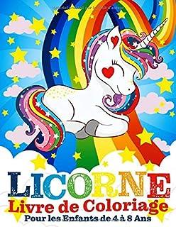 Licornes Livre De Coloriage Pour Enfants Et Adultes Bonus