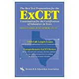 img - for ExCET -- The Best Test Prep: for the Examination for the Certification of Educators in Texas (Test Preps) by William H. Barber (1998-05-03) book / textbook / text book