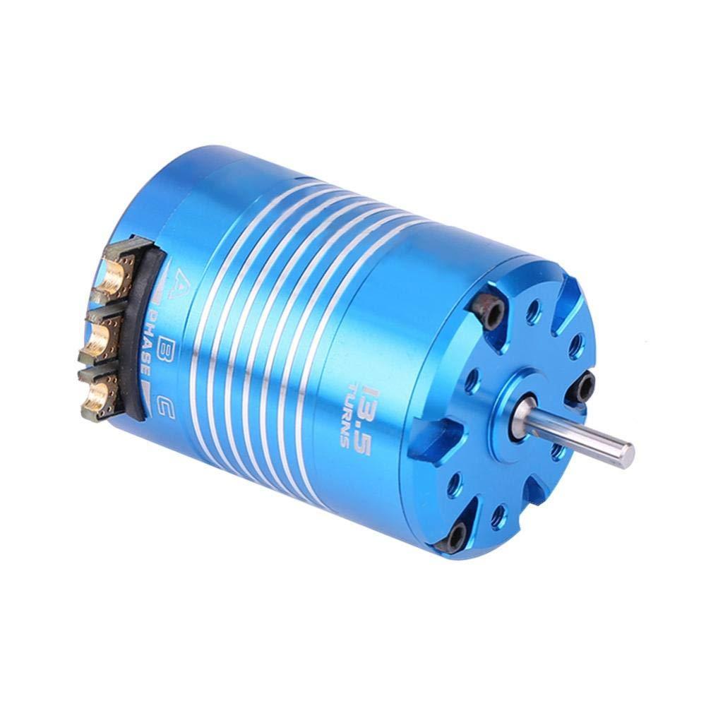 2 Postes 540 4.5T 13.5T Sensored Sin Escobillas Motor RC Pieza para 1//10 Coche de Control Remoto Accesorios 4.5T Dilwe Motor del Coche RC