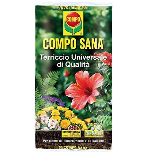 Compo Sana - Sustrato universal de calidad en paquete de 10 litros: Amazon.es: Jardín