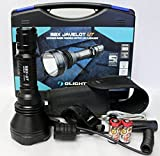 Cheap Olight M2X-UT Javelot 1020 Lumens CREE XM-L2 LED Flashlight 810m Long Throw Distance Search Light Weapon Kit, Includes LegionArms Off Set Mount and Pressure Remote Switch