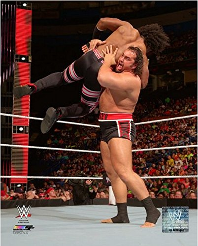 """Rusev WWE 2014 Action Photo (Size: 8"""" x 10"""")"""