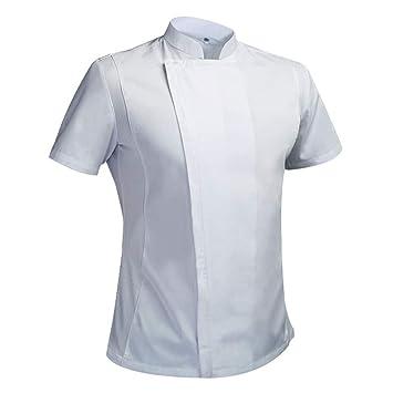 Best 4U Traje de Chef de Verano, Chaqueta de Cocinero, Camisa ...