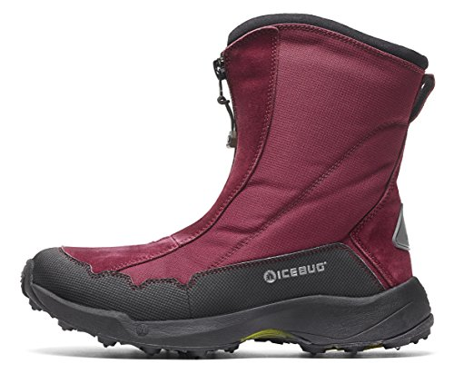 Icebug Women's Ivalo2 BUGrip Traction Studded Winter Boot, Mulberry, 8 ()
