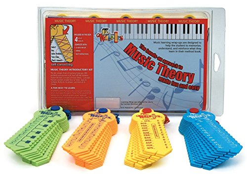 - Learning Wrap-ups Music Theory Intro Self Correcting Keys Kit